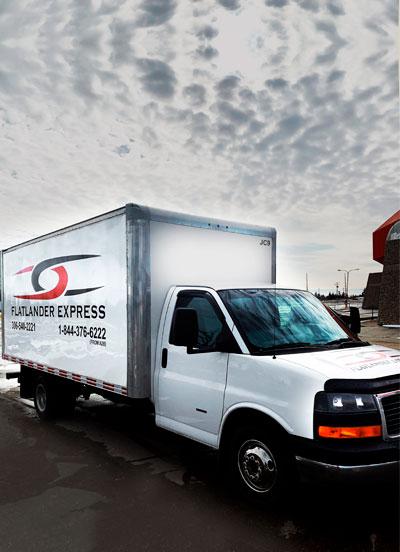 Flatlander Express Delivery Truck