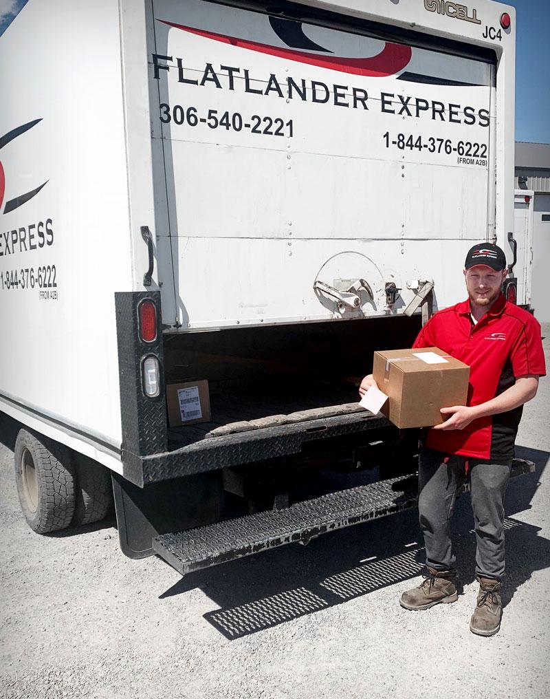 Flatlander Express Delivery Driver