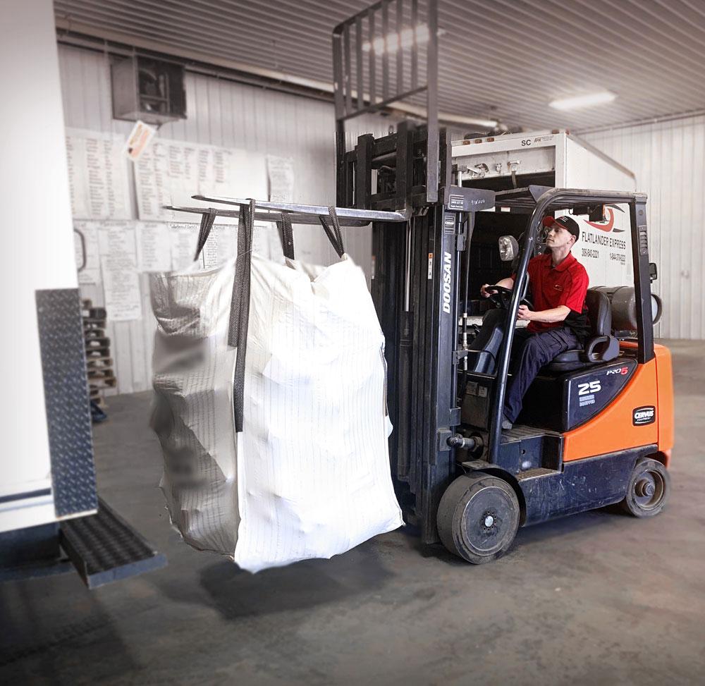 Flatlander Express Warehouse Worker