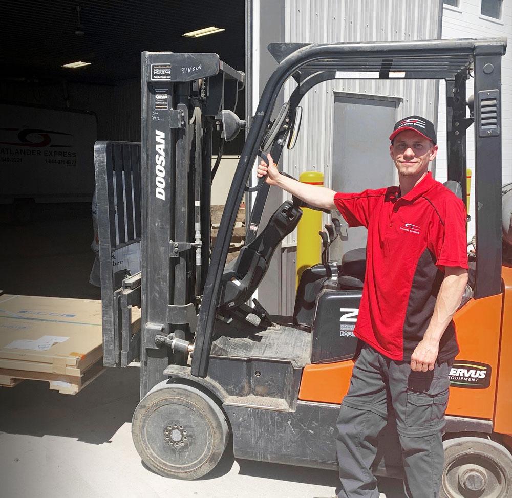 Flatlander Express Forklift